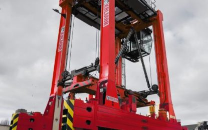 Kalmar's equipment supports EUROGATE Hamburg with straddle carrier modification