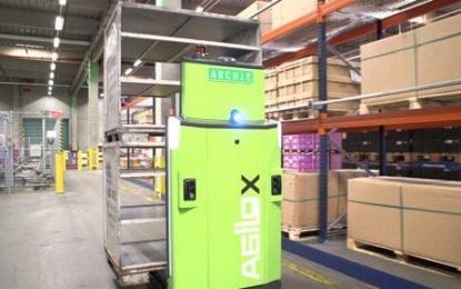 DB Schenker implements driverless forklift truck