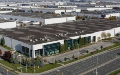 Porsche Cars Canada selects DB Schenker to operate its new Mississauga, Ontario Parts Distribution Center