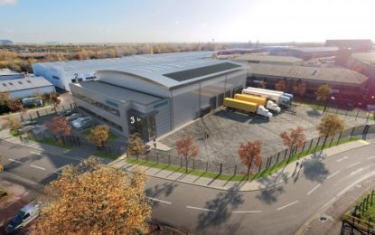 Proposed new warehouse at Blackthorne Point  serving Heathrow