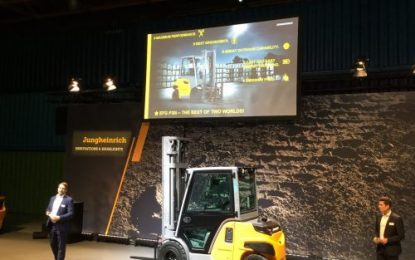 EFG P30i, Jungheinrich – The future of the counterbalance truck