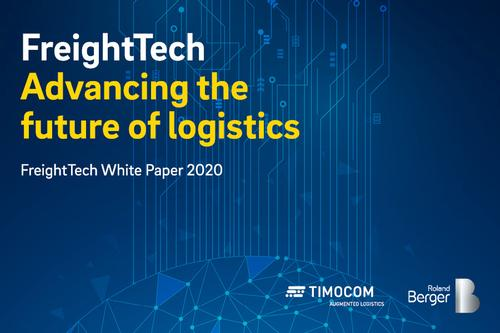 TIMOCOM publishes White Paper on the FreightTech industry