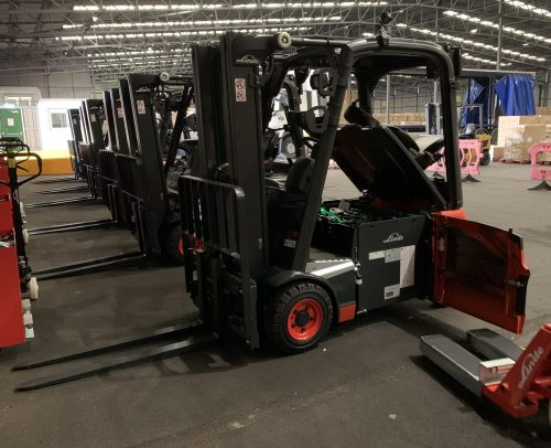 ABP Invests in a Fleet of Electric Forklifts at the Port of Hull