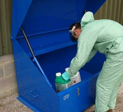 VALE storage solutions for chemicals and fuel meet stringent Health and Safety regulations