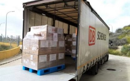 Further face mask shipments by DB Schenker: 100,000 masks donated by fashion retailer to Spanish & Italian regions