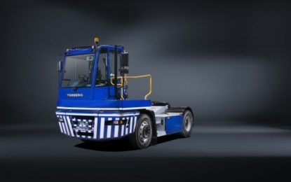4th generation Terberg DTS YT tractor for logistics & ports launched
