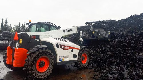 New Bobcat TL43.80HF Waste Expert Telescopic Loader