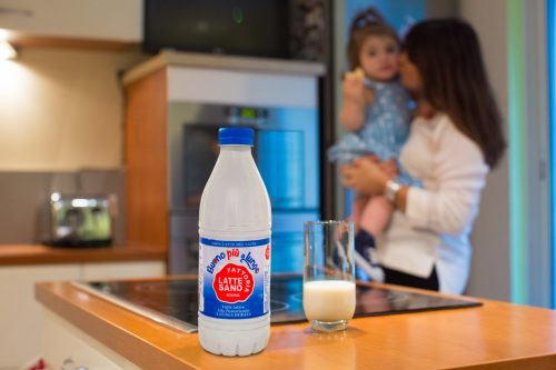 New Sidel aseptic complete PET line and bottle design for UHT milk boost business