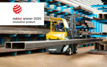 Second Red Dot Design Award for Combilift