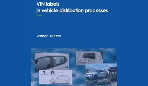 ECG recommendation on standardisation of Vehicle Identification Number (VIN) labels in the Supply Chain
