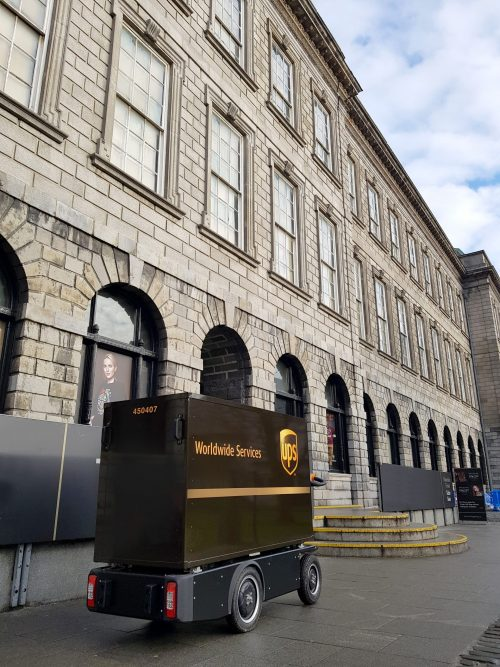 World-first in Dublin as UPS & Dublin City Council innovate to reinvent sustainable last mile deliveries
