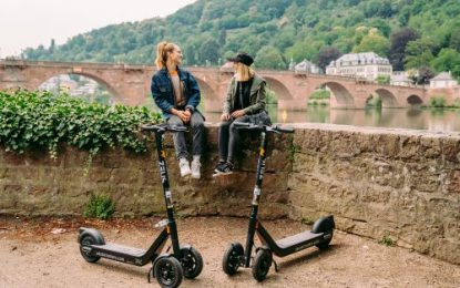 ZEUS Electric Scooters has more German Cities signed up