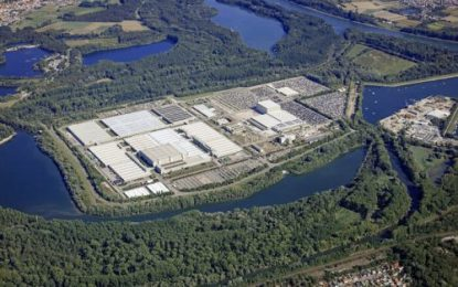New hi-tech warehouse complex & 80,000 m² of storage space at Mercedes-Benz Global Logistics Center