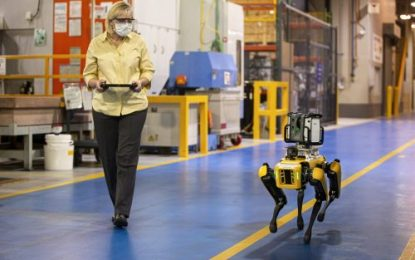 No Woof Stuff! Ford Experiments with 4-Legged Robots to Scout Factories, Saving Time & Money