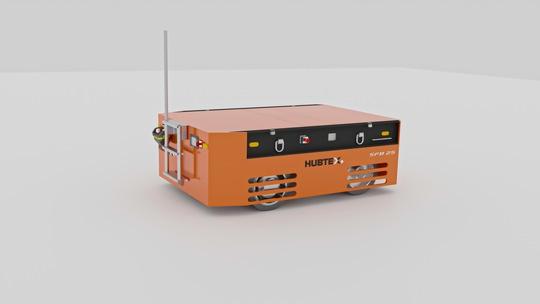 Compact & Economical: Hubtex equips platform transporters with new steering mechanism