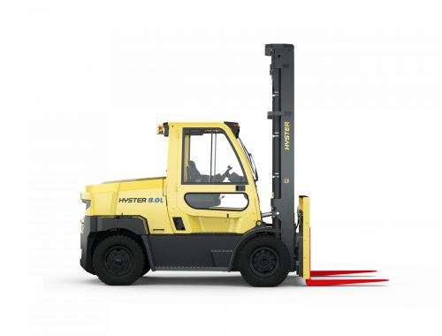 Hyster introduces 7-9 Tonne Integrated Lithium-ion Lift Trucks