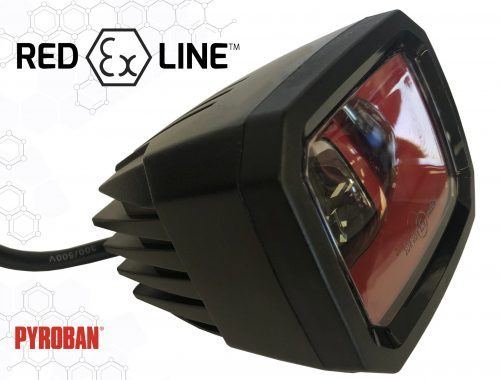 New Red Ex Line safety light from Pyroban for any ATEX zone