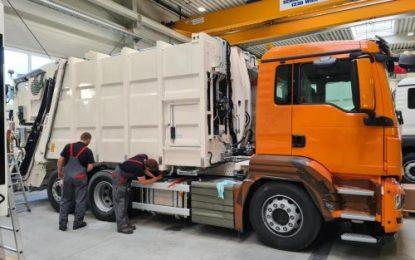 Swiss city takes MAN hybrid refuse trucks with Allison Automatics