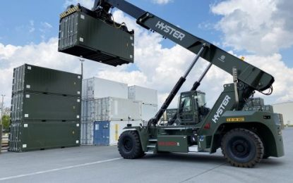 9 Hyster ReachStackers for the German Armed Forces