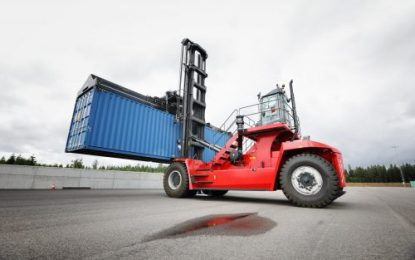 New range of G-Generation top loaders from Kalmar