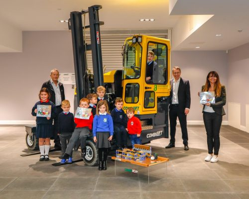 """CombiKids children's' book """"The Forklifts and their Secret Superpowers"""" published"""