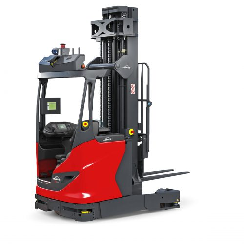 Automated reach trucks and pallet stackers from Linde Material Handling