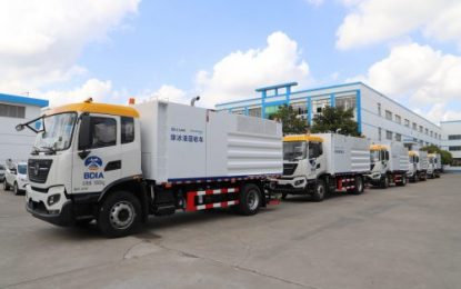 Allison 3000P fully automatic transmissions on Dongfeng Cummins powered trucks