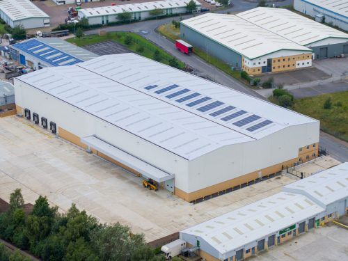 Onward Holdings Ltd sells its newly completed 66,000sq ft warehouse in Featherstone (branded Phoenix 66)