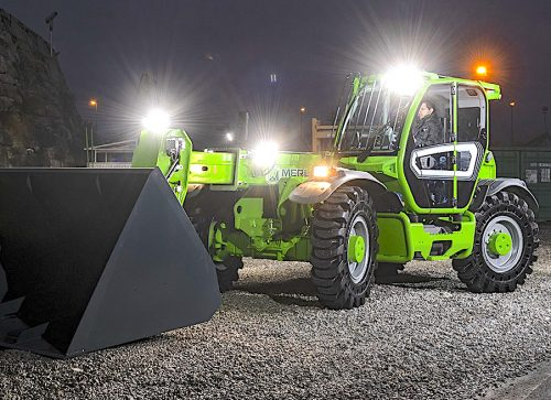 Waste Manager; A versatile heavy-duty bulk handler from Merlo