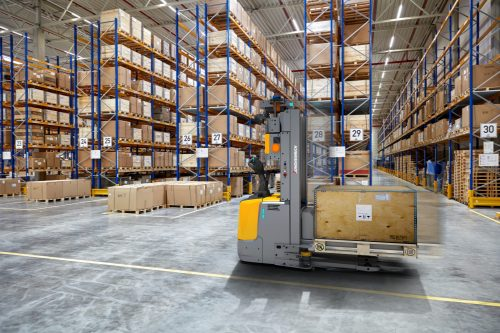 Jungheinrich's automated solution for the BLG Logistics Group