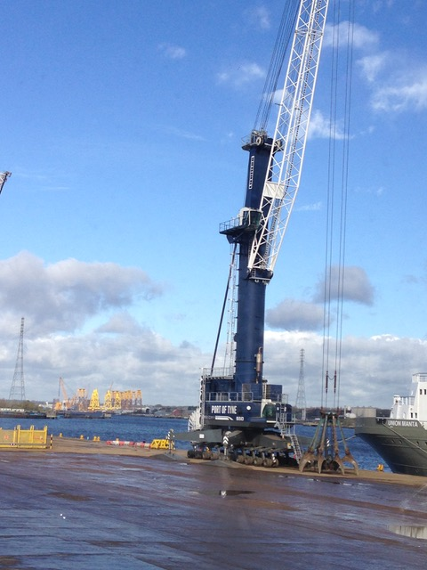 Port of Tyne clean energy programme cuts carbon emissions by 700 tonnes in 12 months