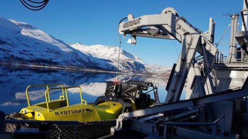 Battle stations for boat-handling systems from Vestdavit