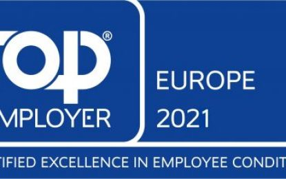 CHEP certified as a Top Employer in Europe for fourth year running