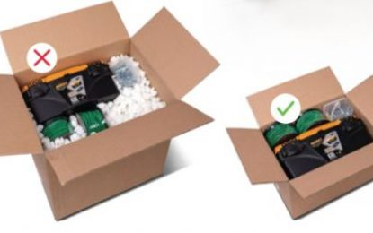 eCommerce: Online boom makes oversized packaging unsustainable