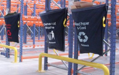 Racksack from Beaverswood improves the collection and segregation of waste