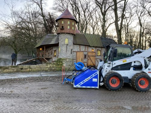 Bobcat at the Zoo:  Bobcat Loaders are True All-rounders with many Attachments