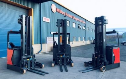 New KAUP Forklift Truck Attachments at William Hackett Lifting Products Ltd