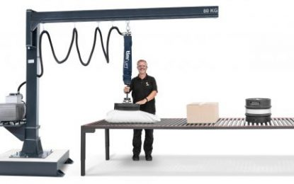 Timmer restructures the vacuum lifting technology segments and launches further-developed product line timLIFT