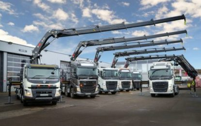 Hiab secures major crane deal with MV Commercial