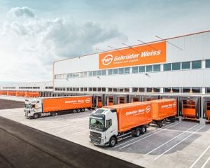 Gebrüder Weiss moves into new logistics center near Graz, Austria