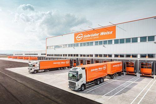 Gebrüder Weiss moves into new logistics center near Graz, Austria
