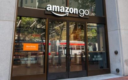 Amazon is Go! Internet giant launches its first till-free UK store