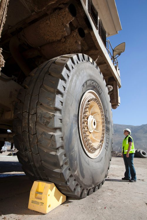 Michelin offering expert tyre fitting & maintenance training for operators of plant, construction, industrial and heavy-duty machinery