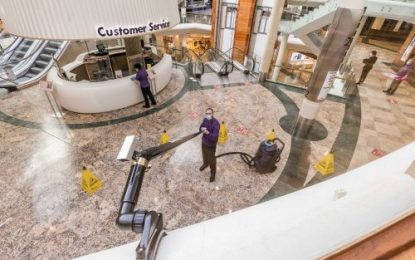 Momentum Support secures cleaning contract with Dundrum Town Centre