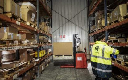 GEODIS & Phantom Auto produce first Remotely Operated Forklift