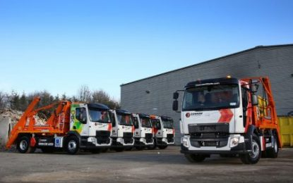 Dunmow Waste Management expands fleet with 15 new Hyva Skiploaders