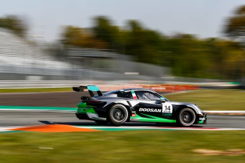 Doosan Sponsors Team in Porsche Mobil 1 Supercup