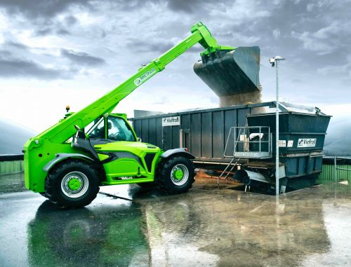 Merlo Telehandlers: Appeals farmer, industrial and construction users