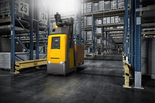 Innovative Jungheinrich solution for automated high lift deployment