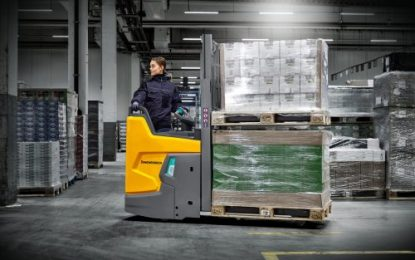 New Jungheinrich ERD 220i redefines triad of compactness, safety and ergonomics